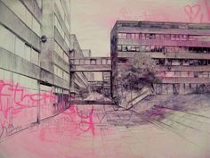 Brutalist Estate, Laura Oldfield Ford