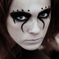 Cool makeup.                                                                                                                                                                                 More