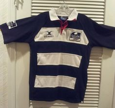 Guiness Premier Gilbert Rugby Shirt Medium #10 Striped Premiership Sports   #Rugby #PoloRugby