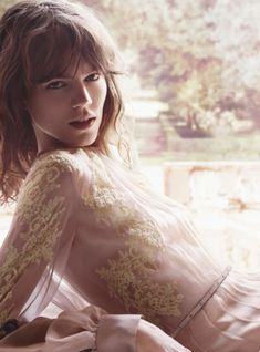 Freja Beha Erichsen is Tapped for Valentinos Valentina Acqua Floreale Fragrance Campaign