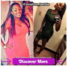Post Breakup Slim Down Success: Tiesha lost 40 pounds. #fitnessmotivation #weightlossmotivation #beforeafter #weightloss #loseweight