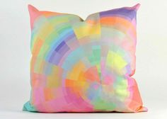 20 Soothing Geometric Pastel Modern Throw Pillows | Home Design Lover
