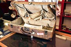 Recovered SUITCASE belonging to MULLVINA DEAN