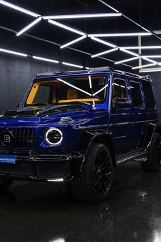 Mercedes Brabus, Mercedes G Wagon, Mercedes Benz Cars, Mercedes Wallpaper, Blue Cars, Merc Benz, Luxury Private Jets, Benz G Class, Top Luxury Cars
