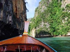 The perfect way to discover some less touristic spots - Phi Phi Islands, Thailand