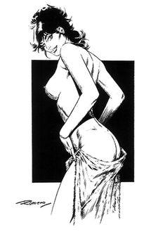 enrique romero axa | modestyerotic140 02g La chica del viernes LXX: Modesty Blaise