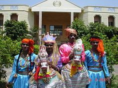 South indian folk dance like a horse known as Poi Kal Kudirai