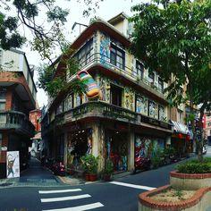 台灣淡水意大利鞋店 #streetart