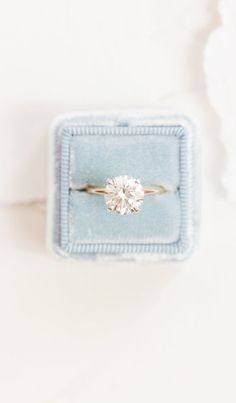 Classic solitaire engagement ring  Love it but with six prongs