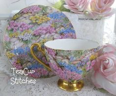 Teacupstitches: TEACUP TUESDAY~Time for Tea with Shelley~