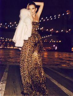 Vogue Paris Aug 2008 'Nuits Fauves' - Kate Moss by Inez & Vinoodh