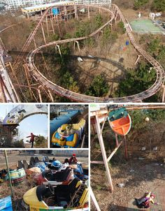 6) Opko Land Theme Park in Opko, South Korea. Abandoned after a young girl was killed on one of the rides.