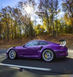 Porsche 991 GT3 RS painted in Ultraviolet Purple⚡️This Advertising Pays You Back Up to 2% Daily❗️ checkout the video here➡️ http://youtu.be/mY_3qovn4hM Tap the Link in my Bio Follow my Friends Below Follow ➡️ @must.love.animals Follow ➡️ @inspiration.and.quotes #lol #wealth #cash #profit #follow #girl #quotes #cashout #Forex #me #money #instalike #Ford #Lifestyle #love #luxury #Mustang #Ferrari #Binary #stock #instagood #followme #photo #pic #video #car $.99
