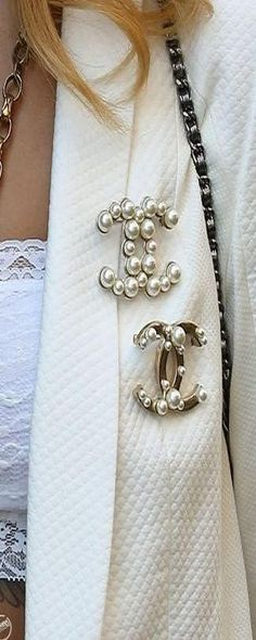 Chanel Broaches ♥✤ | Keep Smiling | BeStayBeautiful