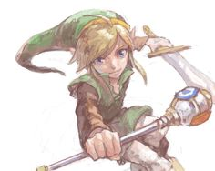 Link - The Legend of Zelda: Oracle of Seasons @ [drawr] 2011-06-20