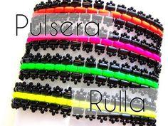 ▶ Abalorios DIY - Pulsera con cuentas Rulla ® (Version3) - YouTube