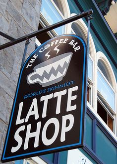 The Coffee Bar World's Skinniest Latte Shop