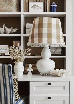 Hand made and individually designed luxury homewares, created by Adelaide Bragg. Desk Space, White Beige, Lamp Bases, Classic White, Home Decor Accessories, White Ceramics, Decor Styles, Home Office, Gourd