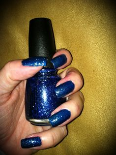 China Glaze Dorothy Who?  My new favourite polish colour.  Lovely, lovely