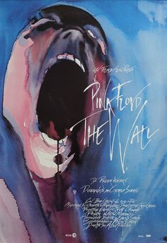 1982 Pink Floyd The Wall  Original Vintage by OutofCopenhagen