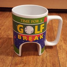TIME FOR A GOLF BREAK GIFT FUNNY GANZ Mug Cup Coffee Tea Home Office Sport Desk…