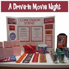 Movie Night theme - fun for a birthday party