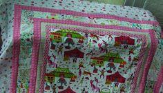 Patchworkdecke Zirkus von Meine bunte Flickenecke auf DaWanda.com