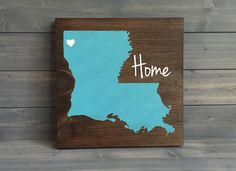Pick Colors, Louisiana Wood Sign, Lousiana State Sign, Stained Hand Painted, Personalize, Louisiana decor, Saints decor, Tigers decor by RusticStrokes on Etsy https://www.etsy.com/listing/182398077/pick-colors-louisiana-wood-sign-lousiana
