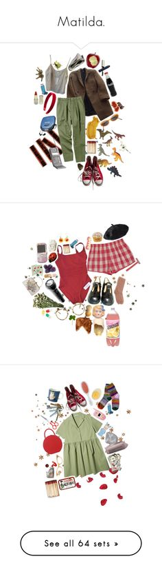 """Matilda."" by abundanceoffreckles ❤ liked on Polyvore featuring art"