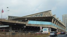 George Washington Bridge Bus Station  :     Pier Luigi Nervi