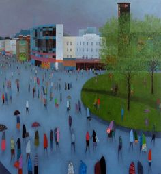 A Good Day for the Cinema by Emma Brownjohn - art print from King & McGaw