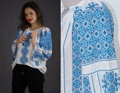 handmade Romanian blouses - worldwide shipping - hippie style - boho fashion