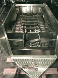 Aluminum boat repair is much easier than boats made with steel or fiberglass hulls. Aluminum is light, strong, corrosion-resistant, non-sparking and can be fixed with an HTS-2000 brazing rod without a welding machine. http://www.aluminumrepair.com/boat-repair.htm