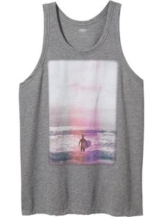 Men's Photo-Graphic Tanks Product Image