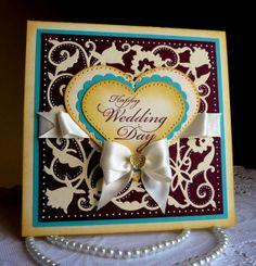 Happy Wedding Day by Olena on Etsy
