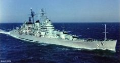 Doug Hegdahl was stationed on the USS Canberra in 1967.
