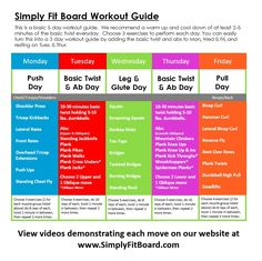 VIDEO: Simply Fit Push Day