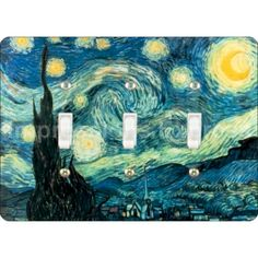 Starry+Night+Van+Gogh+Painting+Triple+Toggle+by+ImpressionsExpress,+$11.99