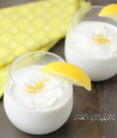 Frozen coconut lemonade  #lowcarb #Paleo #grainfree
