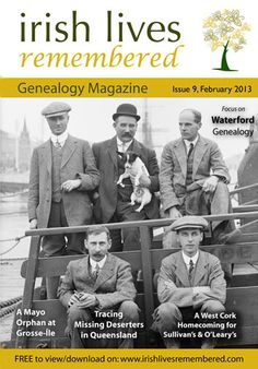 Irish Genealogy Magazines - FREE to view #Irish #StPatty'sDay