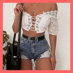 1 2 3 or credit Trend Trendy Outfits Clothes Style Girly Outfits, Short Outfits, Sexy Outfits, Trendy Outfits, Summer Outfits, Cute Outfits, Fashion Outfits, Womens Fashion, Summer Clothes