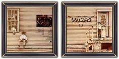 ♫ The Outlaws - Outlaws (1975) - Album Art: Janet Mager & John Gellman. Story on CAA-site. https://www.selected4u.net/caa/theoutlaws/theoutlaws/play.html