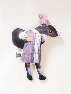 | Stuffed animals by Gianna Pergamo || Etsy Shop Artists on tumblr