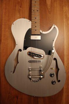Gronlund Guitars Aluminum Top Custom Single Cutaway