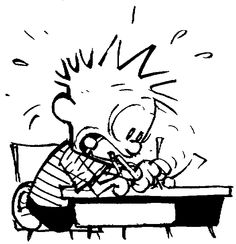 That moment when you realize how close the deadline is and suddenly you become a writing ninja.