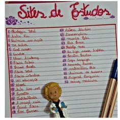 """197 curtidas, 16 comentários - ⠀⠀⠀⠀⠀⠀⠀⠀⠀✨ Letícia Barbosa ✨ (@rumoa_aprovacao) no Instagram: """"Amores, hoje vim indicar esses sites maravilhosos de estudos que sempre me auxiliam bastante!!! ❤"""""""