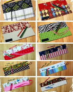 $9 Fun and Creative Crayon & Pencil Roll-Ups - 10 Styles to Choose From! at VeryJane.com
