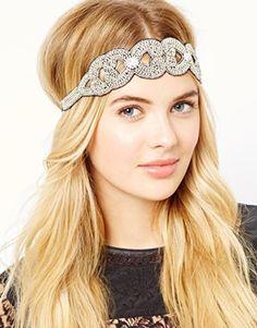 Orelia Embellished Baroque Headband