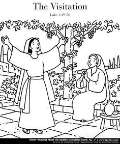 A Coloring Page From The Book Pictures From The Gospels No 1 This Coloring Book Contains Coloring Images Bibel Malvorlagen Kinderbibel Katholische Kunst