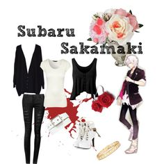 Sakamaki Subaru  casual cosplay created on Polyvore by Psychometorzi